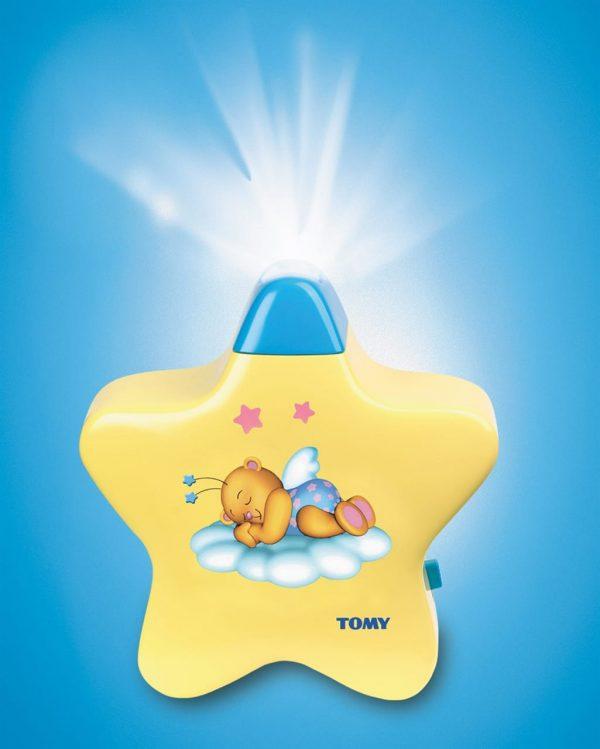 מנורת לילה של הכוכב הצהוב - טומי