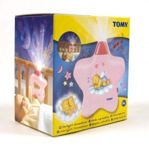 מנורת לילה של הכוכב הורוד - טומי