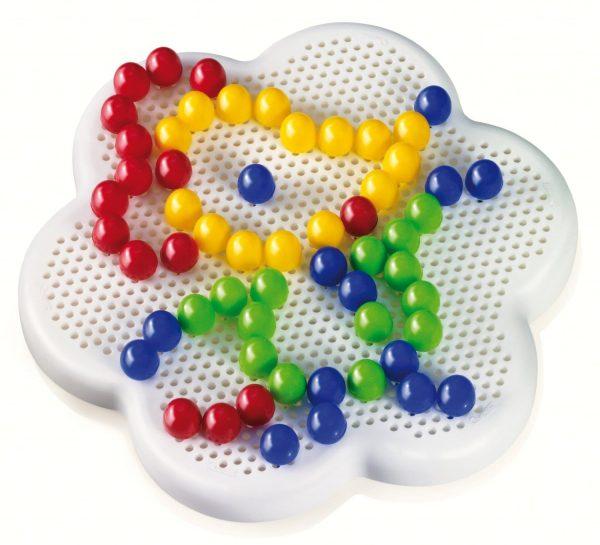 קווארצ'טי - מארז פטריות ג'מבו צבעוניות עם 60 חלקים - דגם 0133