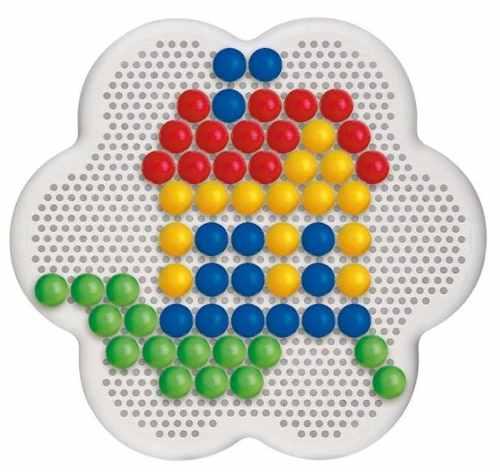 מארז פטריות ג'מבו צבעוניות - 60 חלקים - דגם 0133 קווארצ'טי