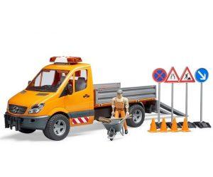 ברודר - משאית MB Sprinter מע''צ + עובד ואביזרים