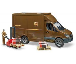 ברודר - משאית Mb Sprinter UPS + עובד ואביזרים