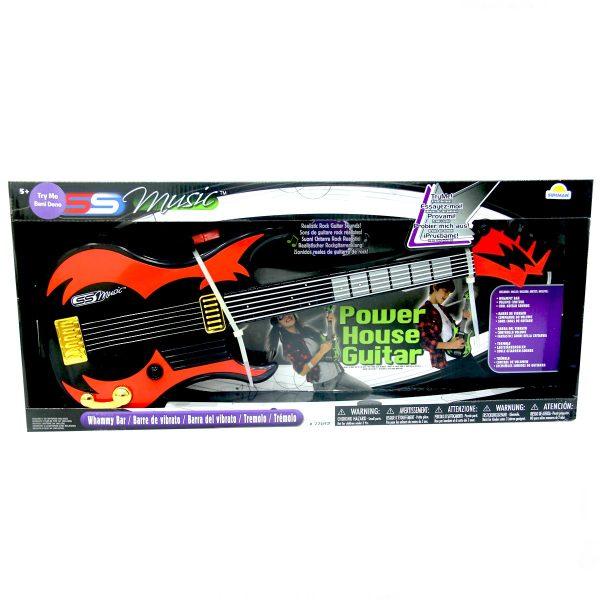 גיטרת פאוור האוס לילדים בצבעים לבחירה - סופרסוניקס