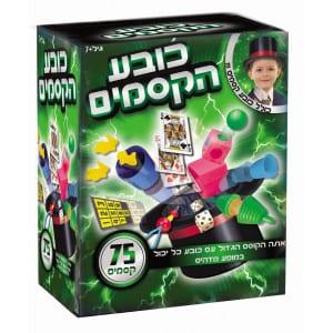 7143כובע הקסמים – ערכת קסמים לקוסם המתחיל הכוללת 75 קסמים – דיאמנט