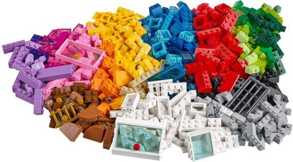 לגו קלאסיק LEGO CLASSIC ערכת בנאי 502 חלקים 10703