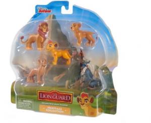משמר האריות - 5 דמויות קטנות במארז - משפחת המלוכה