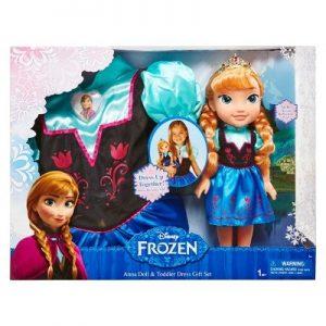 בובת אנה כולל תחפושת אנה - מהסרט לשבור את הקרח