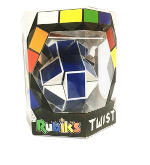 קוביית רוביקס נחש כחול-לבן- Rubik's Twist