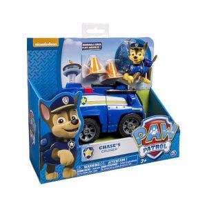 ניידת משטרה מפרץ ההרפתקאות + דמות כלבלב צ'ייס