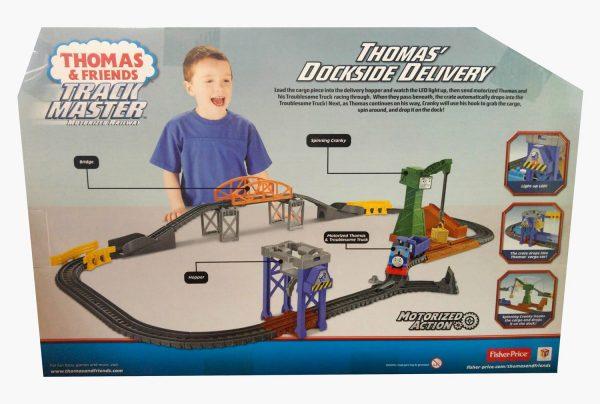 Thomas & Friends - תומס הקטר - מסלול הובלה עם מנוף