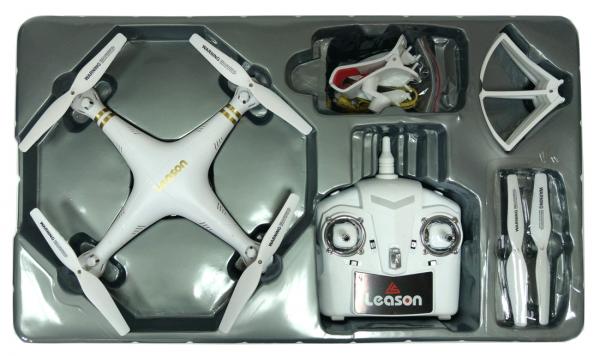 רחפן LS-126 2.4GHz עם מצלמה וחיבור WIFI