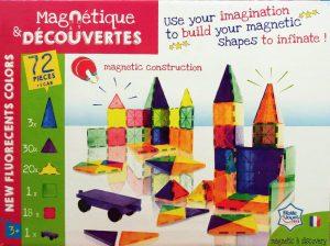 צורות מגנטיות להרכבה  Magnetique & Découveres