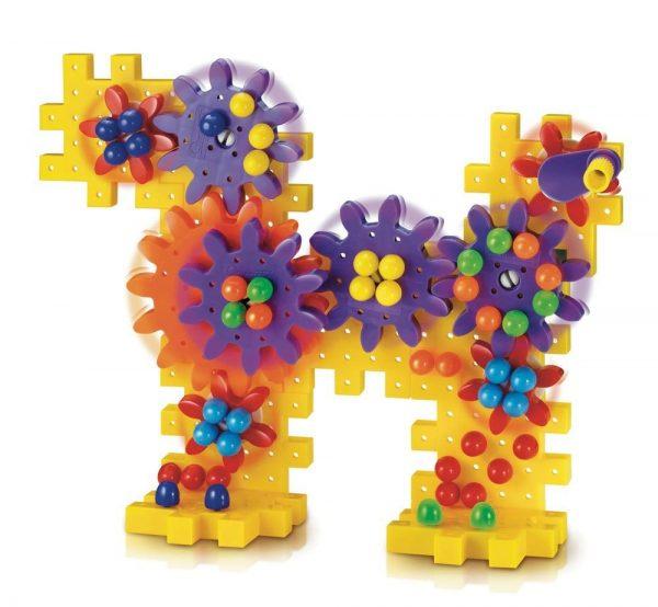 קווארצ'טי סט גלגלי שיניים צבעוניים - דגם 2332