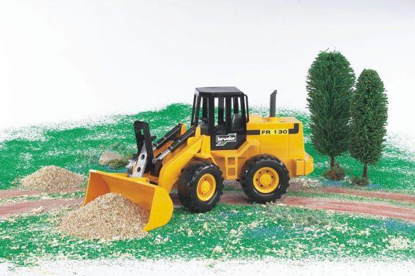 טרקטור צהוב FR130 ברודר 02425