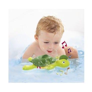 צב שוחה ושר - צעצוע אמבטיה - טומי