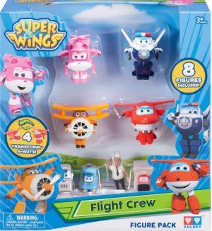 מטוסי על - מארז 4 דמויות ואביזרים