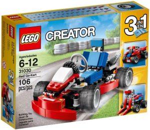 לגו קריאייטור 3 ב-1 - מכונית מרוץ אדומה - 31030
