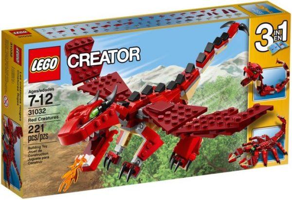 לגו - יצורים אדומים - 31032