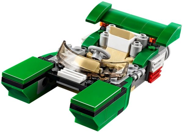 מכונית מרוץ ירוקה לגו קריאטור 31056