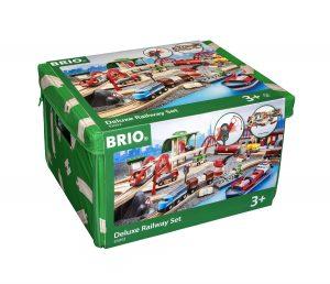 בריו סט רכבות ומסלולים דלוקס 33052 BRIO