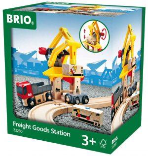 בריו תחנת מטעני משא עם משאית 33280 BRIO