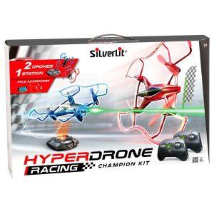 מארז 2 רחפנים Hyper Drone - סילברליט