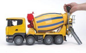 ברודר - משאית מערבל בטון סקניה