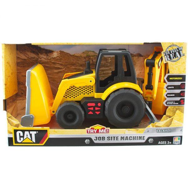"""טרקטור מחפרון גדול אלקטרוני 33 ס""""מ - קאט CAT"""