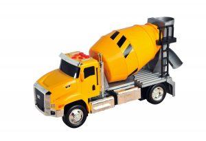 """משאית מערבל בטון עם אורות וצלילים - 33 ס""""מ - קאט"""