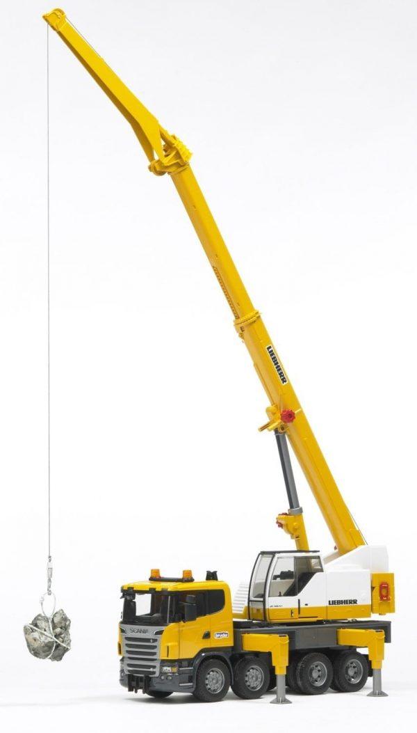 משאית מנוף ענק סקניה – ברודר 3570
