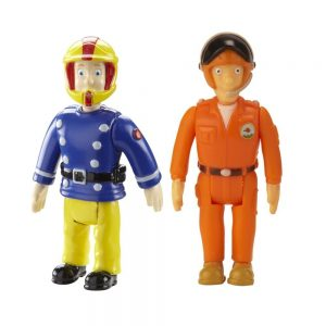 """סמי הכבאי - זוג דמויות סמי וטום עם קסדות 10 ס""""מ"""