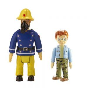 סמי הכבאי מארז 2 ב-1: בובות של סמי ואדם