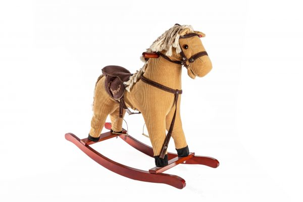 סוס נדנדה חום