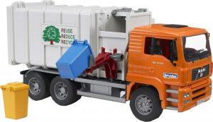 משאית זבל עם גלגת העמסה צדדית - ברודר 2761
