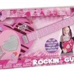 16555גיטרה חשמלית ורודה – סופרסוניקס