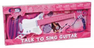 גיטרה וורודה עם מיקרופון מדונה