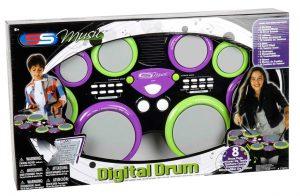 מערכת 6 תופים דיגיטלית לילדים