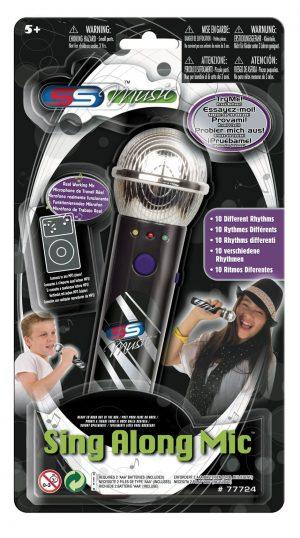 מיקרופון שחור + MP3