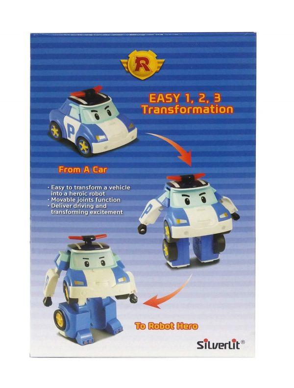רובו אוטו פולי עם אורות - Robocar Poli 83094