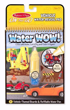 מליסה ודאג - חוברת צביעה עם טוש המים כלי תחבורה