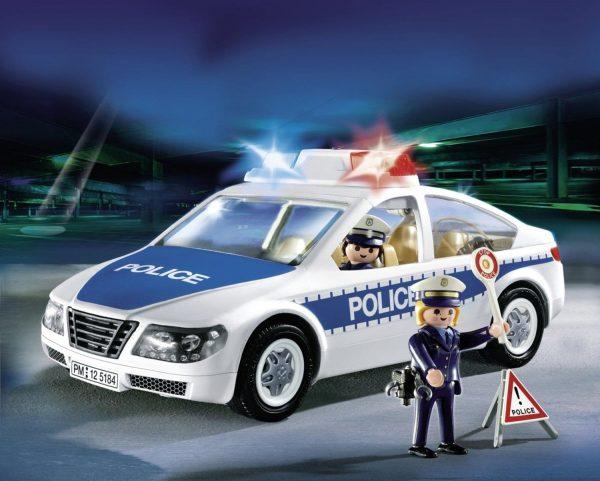 מכונית משטרה - פליימוביל סיטי אקשן - 5184