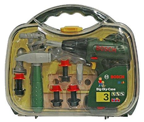 בוש מזוודת כלי עבודה + מברגה BOSCH 8428