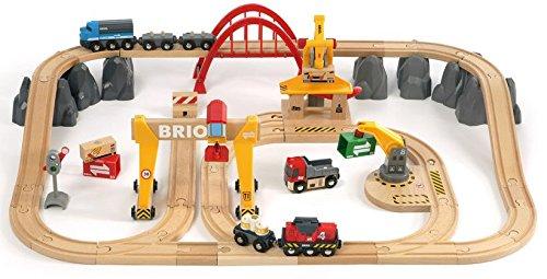 בריו סט רכבת משא מסלול דלוקס 33097 BRIO