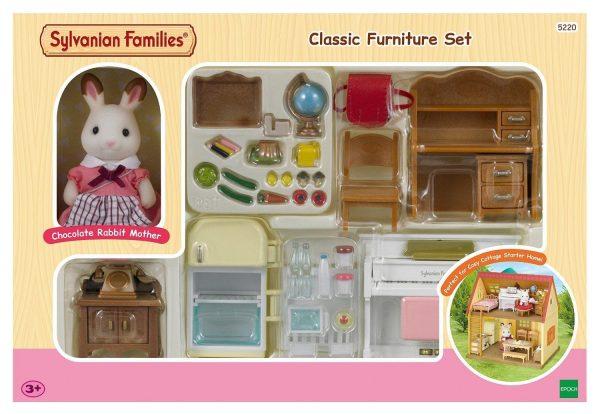 משפחת סילבניאן - ערכת רהיטים קלאסית 5220