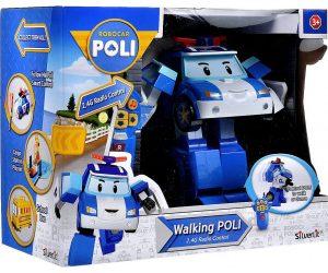 רובו אוטו פולי - רובוטריק פולי גדול הולך עם שלט