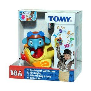 פיל פילון במטוס הצהוב – צעצוע ספירה לילדים – טומי