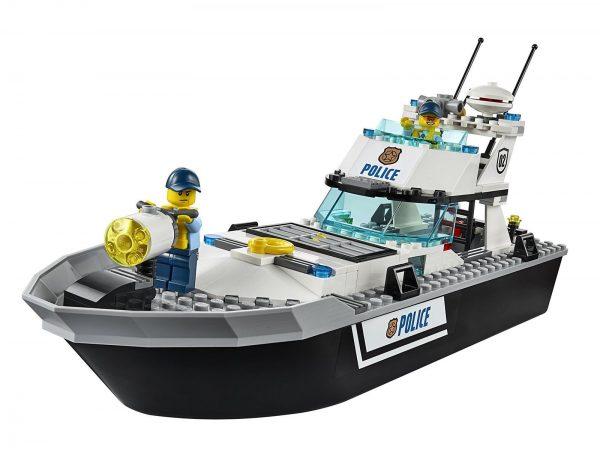 ספינת שיטור -  לגו סיטי 60129