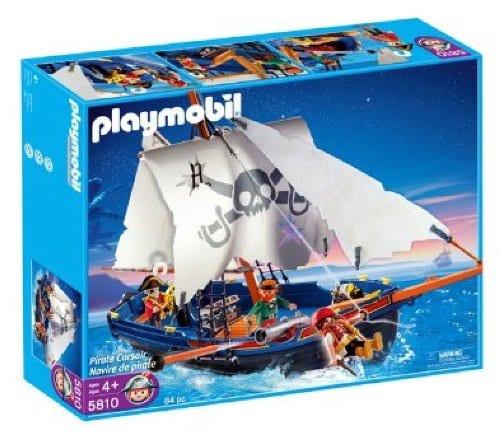 פליימוביל פיראטים מגה סט ספינת פיראטים - 5810