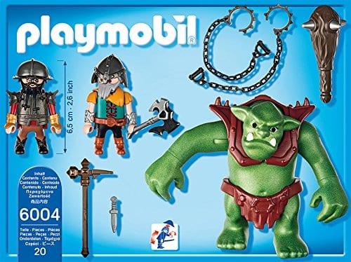 פליימוביל אבירים - הטרול הענק ואבירי הגמד - 6004