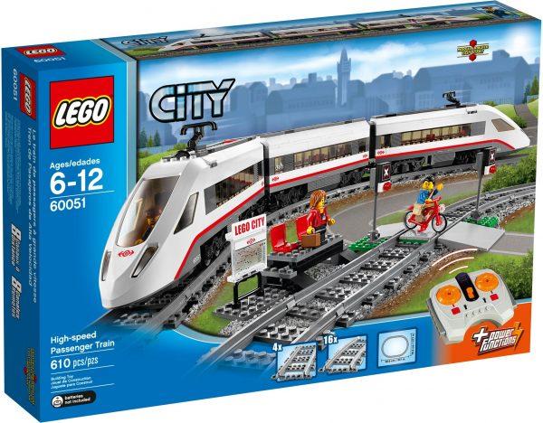60051 לגו סיטי - רכבת נוסעים מהירה